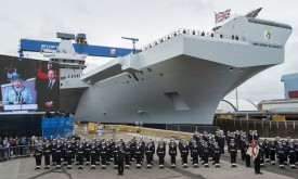HMS Queen Elizabeth (Bigger) RS13110_naming_3-lpr