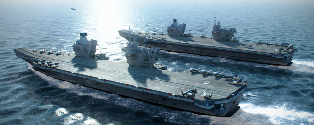 Queen elizabeth aircraft carrier cammell laird for Porte helicoptere