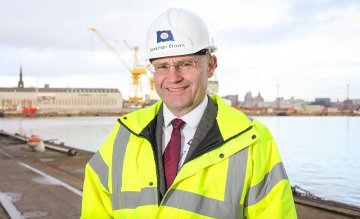 Jonathan Brown Cammell Laird energy division managing director